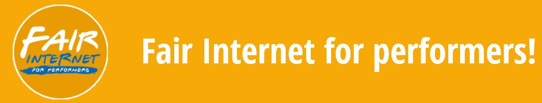 fair internet for performers